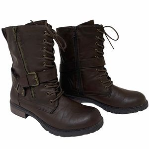 Dolce by Mojo Moxy Brown Combat  Buckles 8…